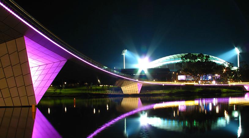 Adelaide Oval Footbridge Infrastructure