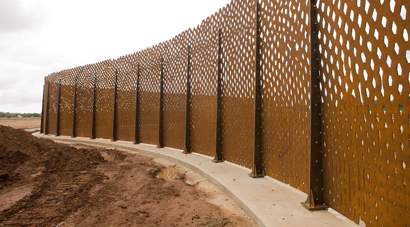 Aboriginal Dreamtime Steel Snake Wall